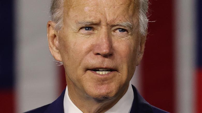 Joe Biden in October 2021