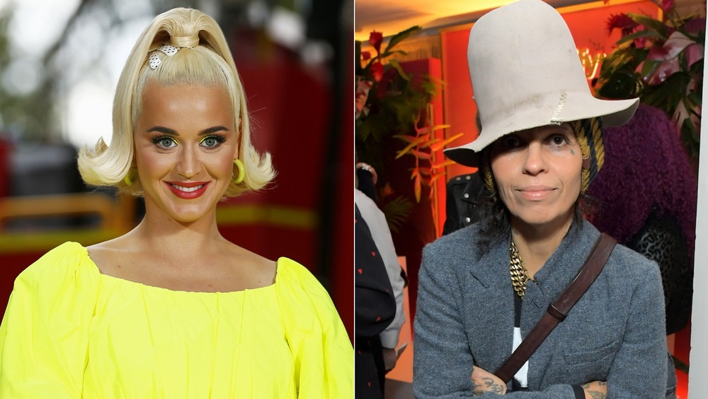 Katy Perry and Linda Perry