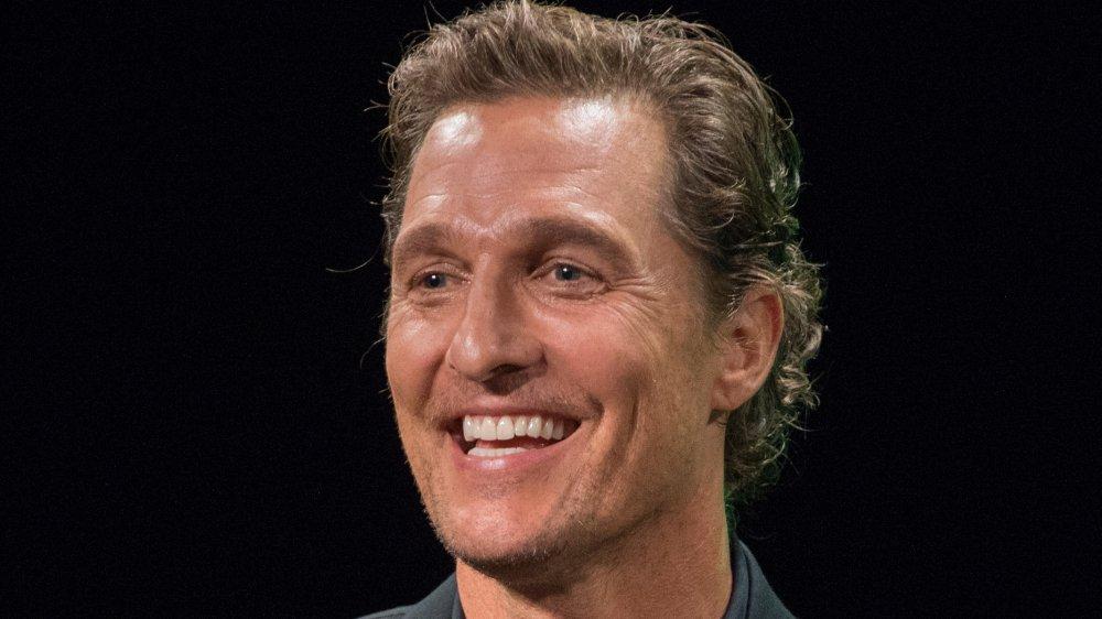 Matthew McConaughey laughing