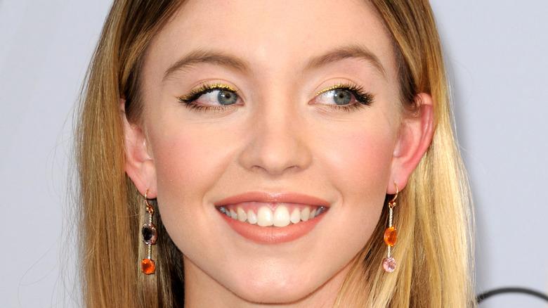 Sydney Sweeney smiling