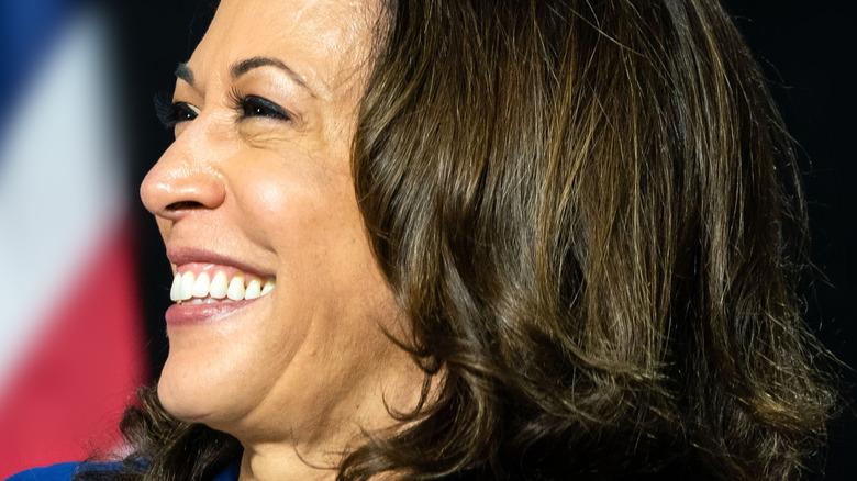 Kamala Harris on the 2020 campaign trail