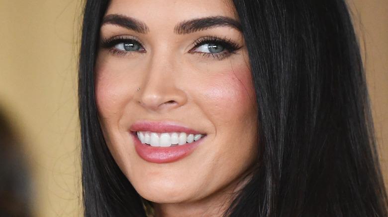 Megan Fox smiling