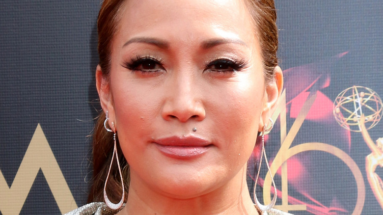 Carrie Ann Inaba on a 2019 red carpet