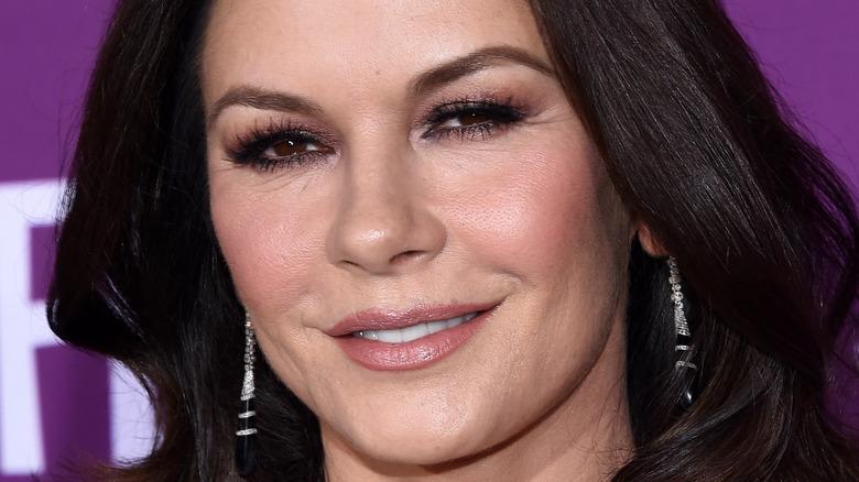 Catherine Zeta-Jones smile
