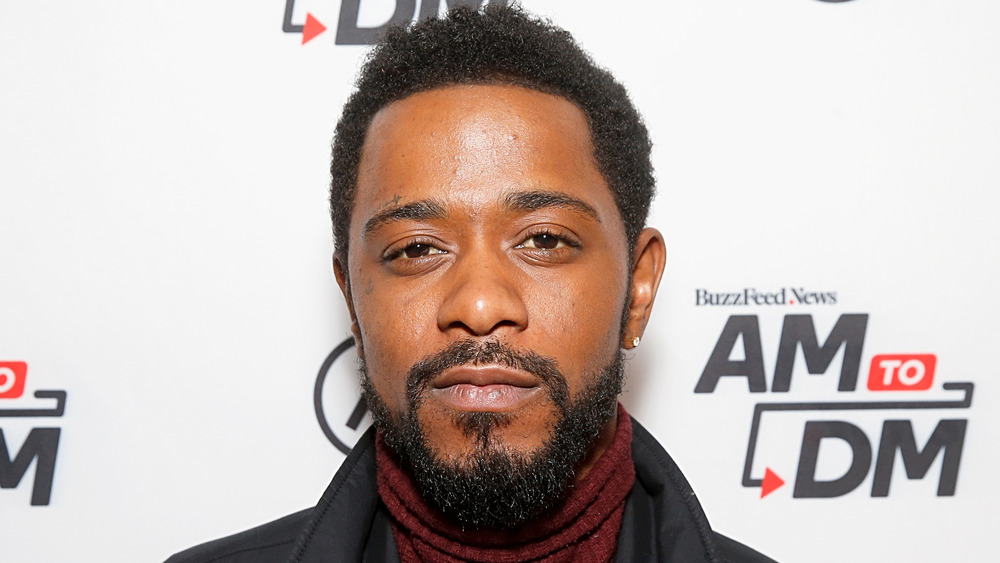LaKieth Stanfield on the red carpet