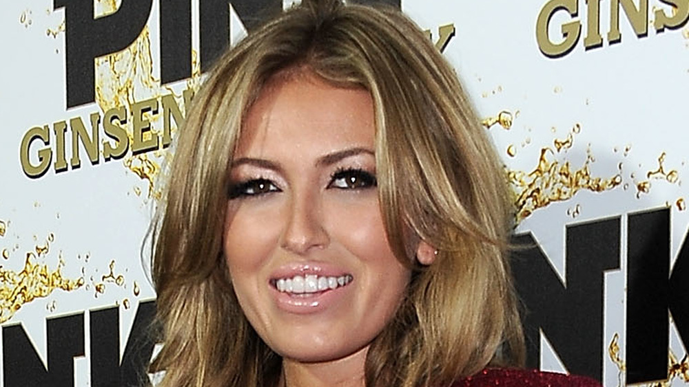 Paulina Gretzky on a red carpet
