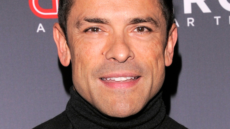 Mark Consuelos smiling on the red carpet