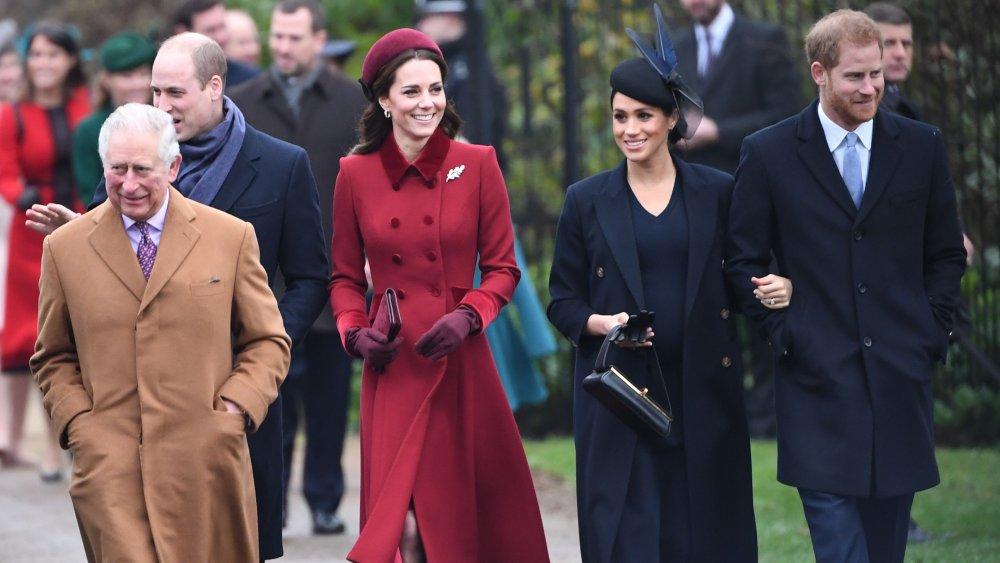 Prince Charles, Prince William, Kate MIddleton, Meghan Markle, Prince Harry