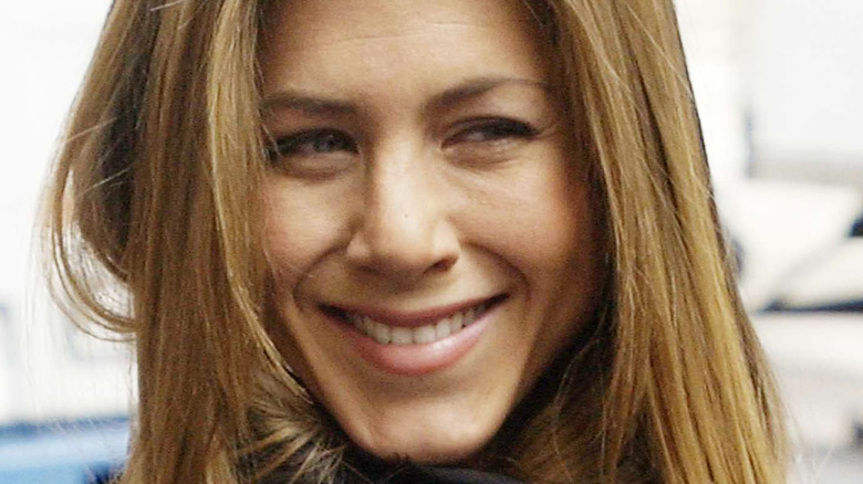 Jennifer Aniston in 2004 smiling