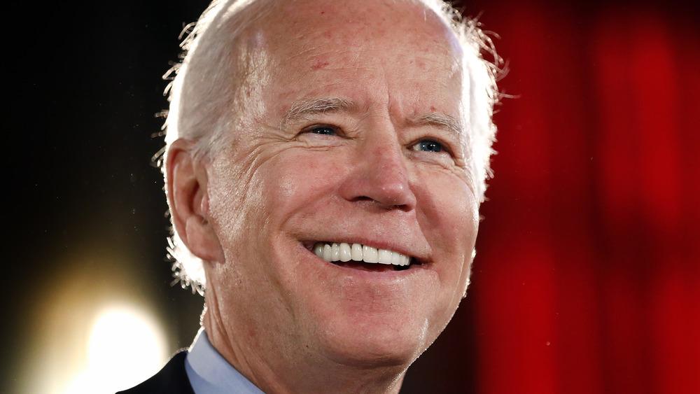 Joe Biden smiling at an event