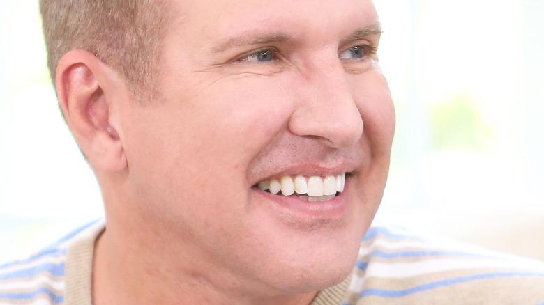 Todd Chrisley smiling