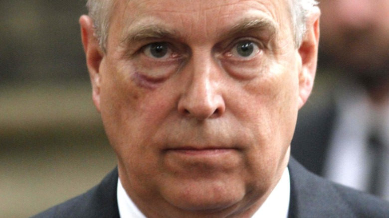 Prince Andrew at event