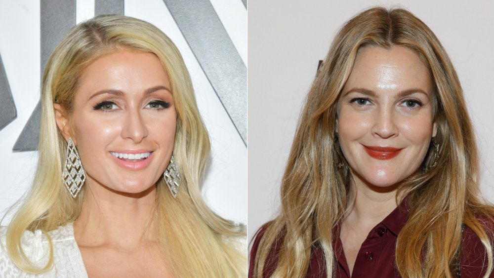 Paris Hilton, Drew Barrymore