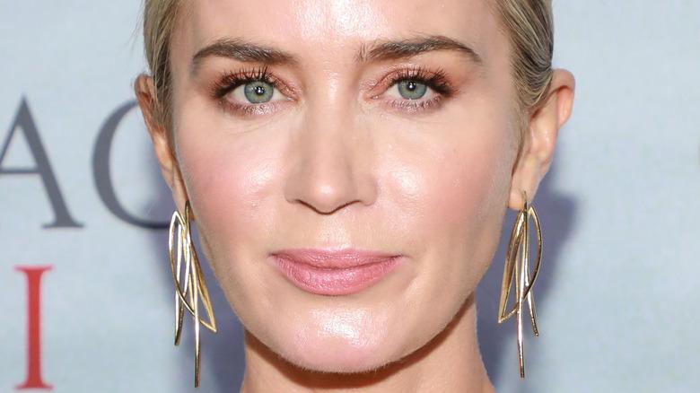 Emily Blunt green eyes