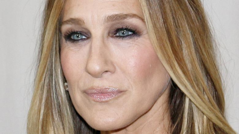 Sarah Jessica Parker smokey eye
