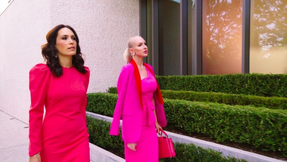 Christine Quinn and Davina Portratz, Selling Sunset