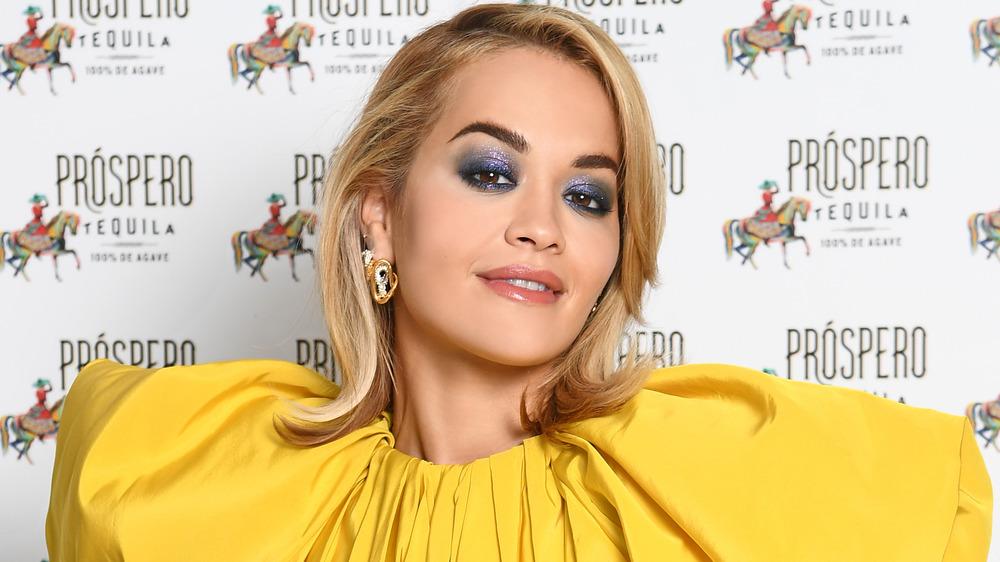 Rita Ora smiling