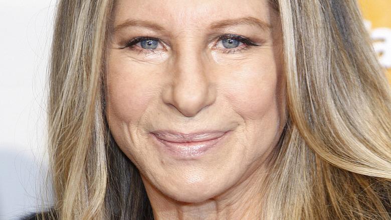 Barbra Streisand on red carpet