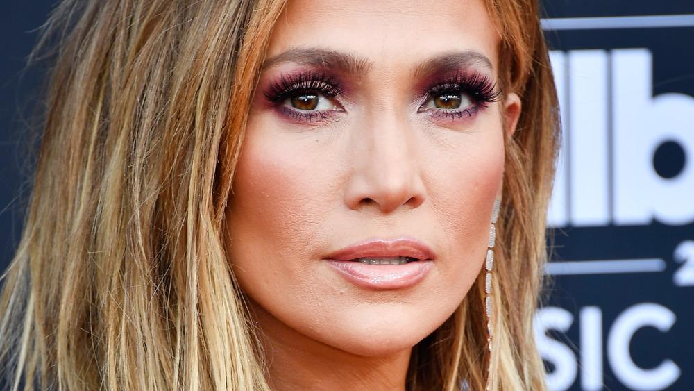 Jennifer Lopez looking fierce