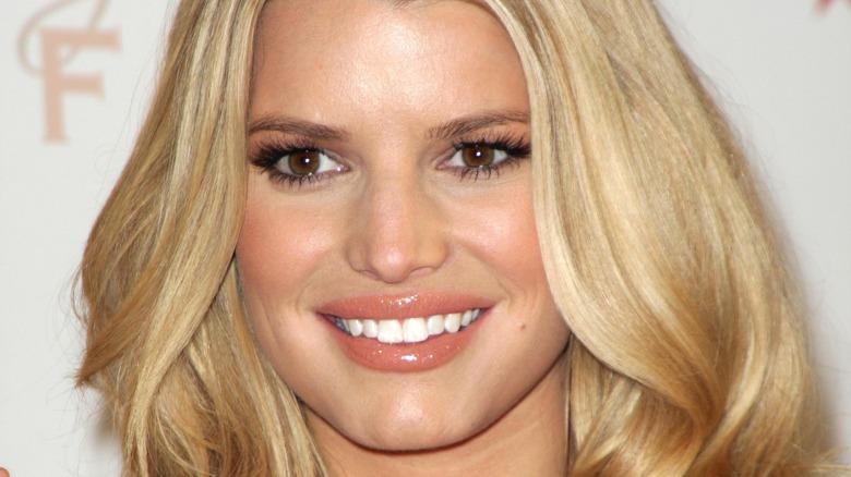 Jessica Simpson smiling