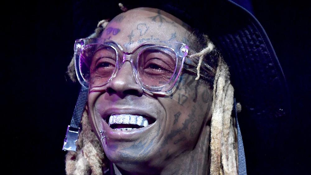 Lil Wayne smiling
