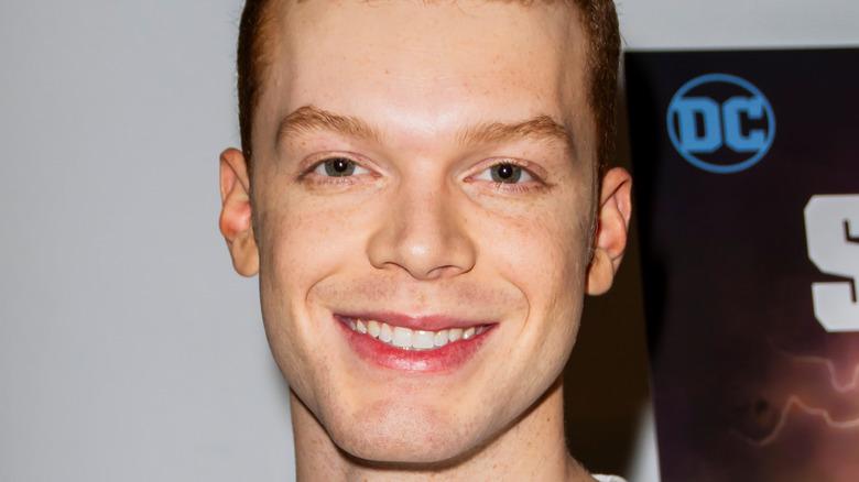 Cameron Monaghan smiling