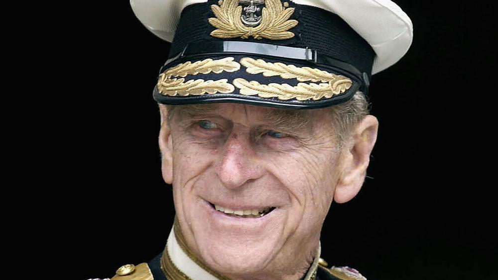 Prince Philip Royal navy uniform