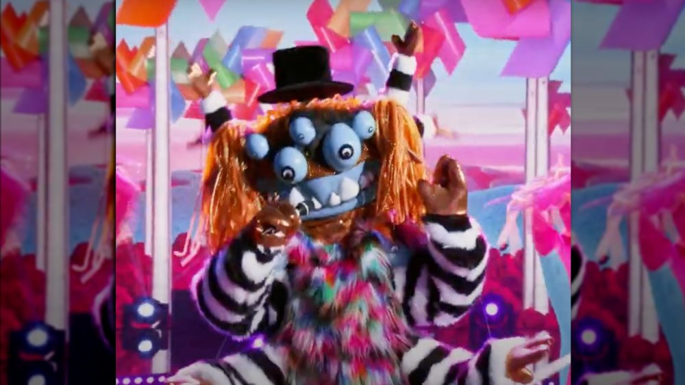 Squiggly Monster on the Masked Singer