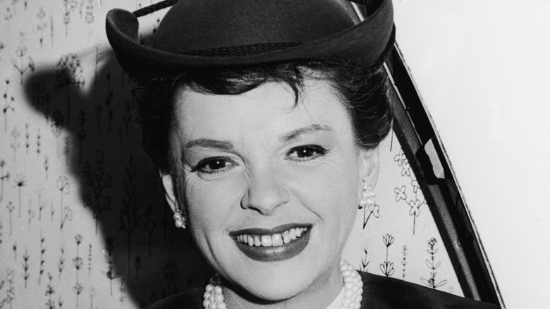 Judy Garland smiles in a file photo