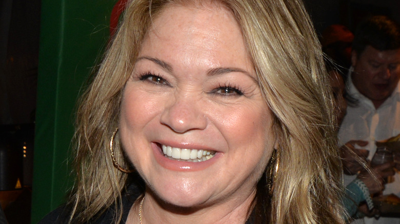 Valerie Bertinelli smiling at an event