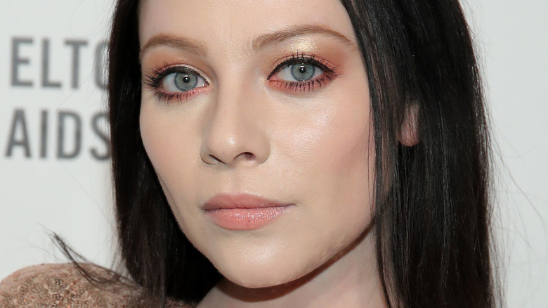 Michelle Trachtenberg attends the 28th Annual Elton John AIDS Foundation Academy Awards