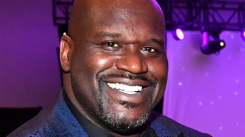 Shaquille O'Neal UNCF event