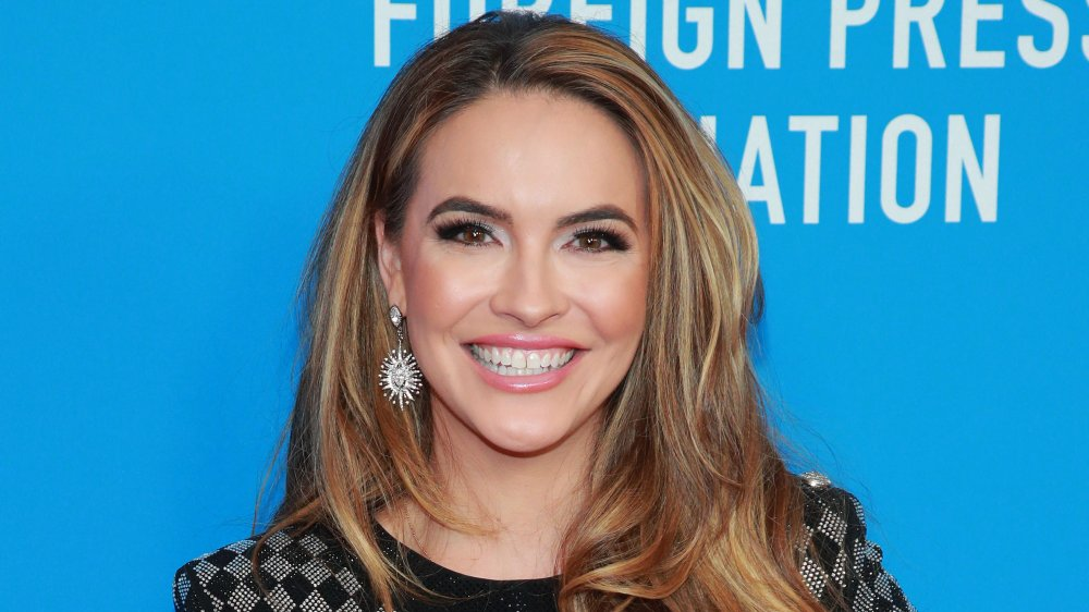 Chrishell Stause attends the Hollywood Foreign Press Association's Annual Grants Banquet at Regent Beverly Wilshire Hotel