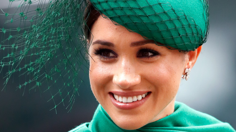 Meghan Markle attends the Commonwealth Day Service