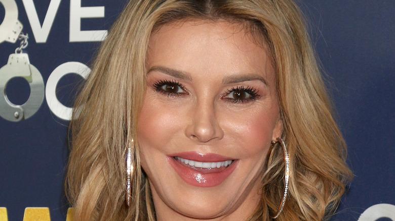 Brandi Glanville smile hoop earrings