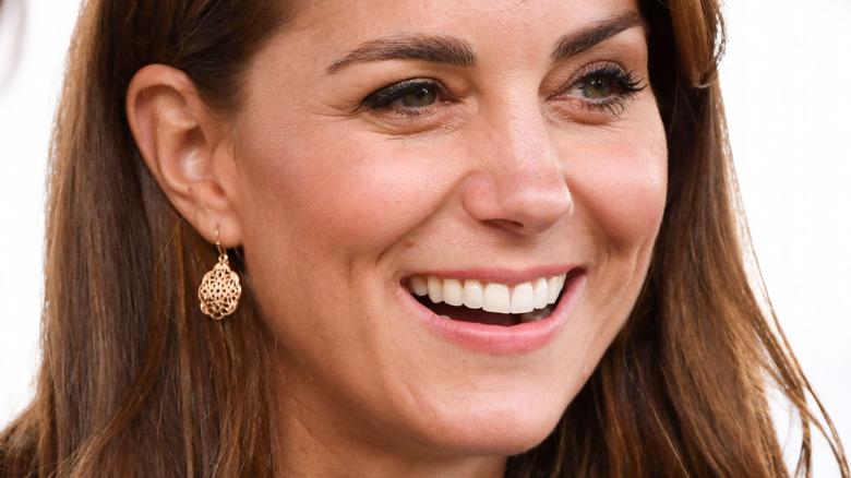 Kate Middleton laughing