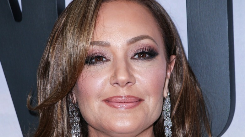 Leah Remini attends premiere of 'Second Act' in New York