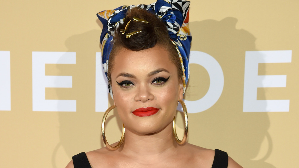 Andra Day smiling