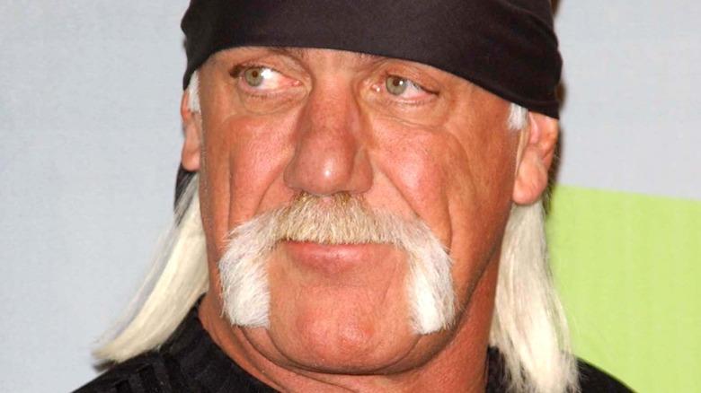 Hulk Hogan posing