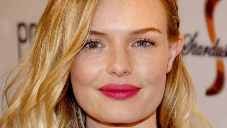 Kate Bosworth wearing pink lipstick