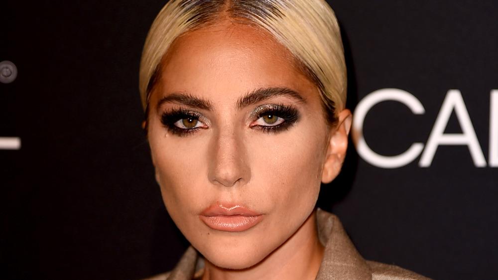 Lady Gaga looking fierce