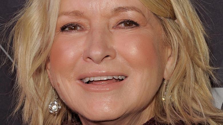 Martha Stewart smiling