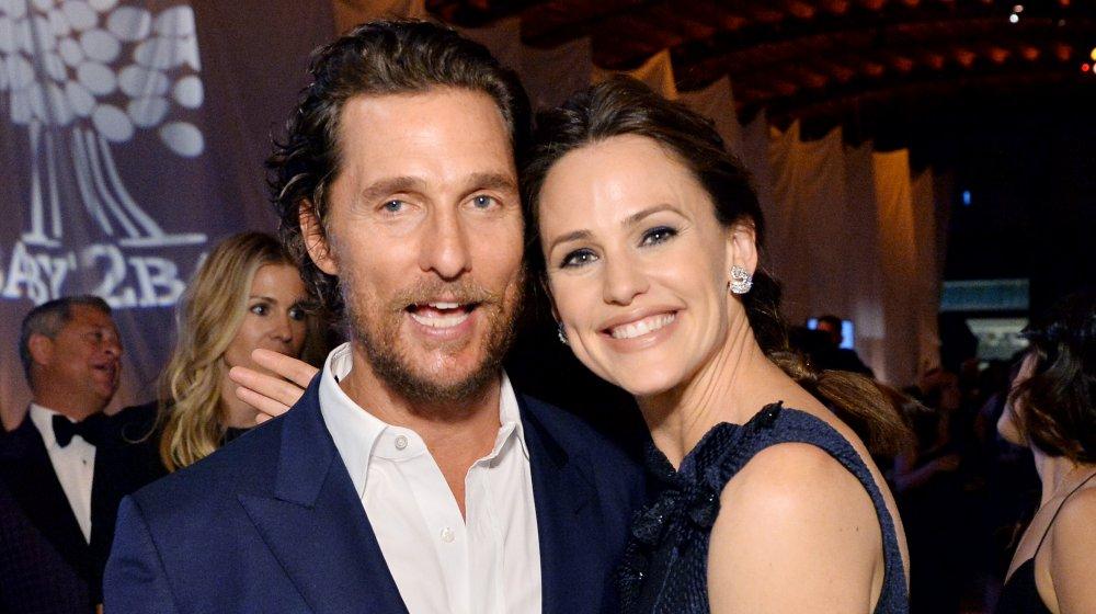 Matthew McConaughey and Jennifer Garner
