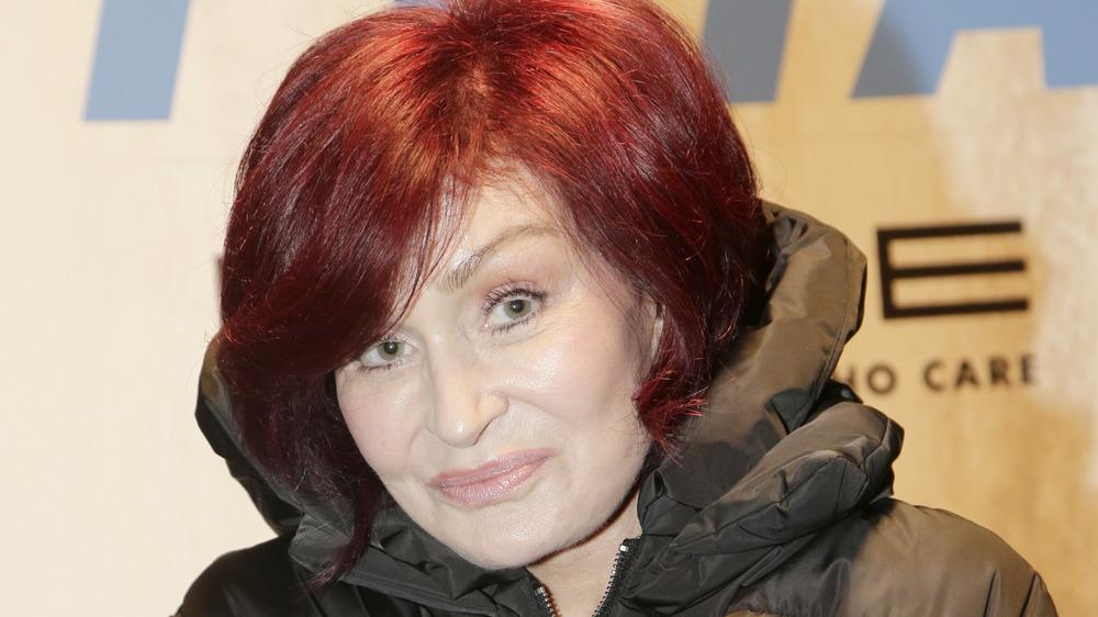 Sharon Osbourne posing