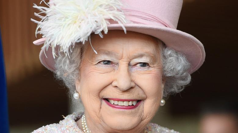 Queen Elizabeth II at the Chichester Theatre