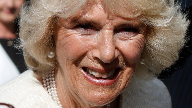Camilla Parker Bowles lipstick teeth