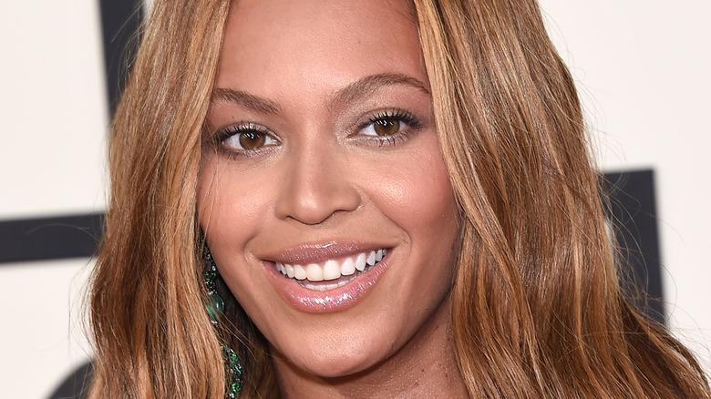 Beyoncé smiling at an event