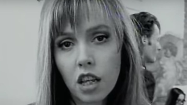 Anita Lane in a music video