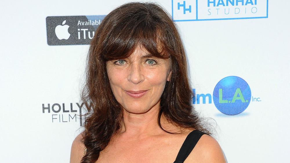 Mira Furlan on the red carpet