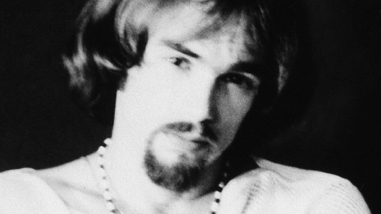 Ron Bushy in black and white photo